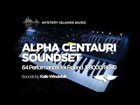 Alpha Centauri soundset for Roland JP8000/8080