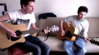 Stuck in the Middle With You - Stealers Wheel (acoustic version by 'Jonny Beat & the Bumfluff Band')