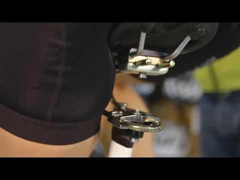 Rinsten Spring Støddæmper til sadel med LED lygter video
