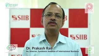 Dr. Prakash Rao - Dy.Director, Symbiosis Institute of International Business (SIIB)