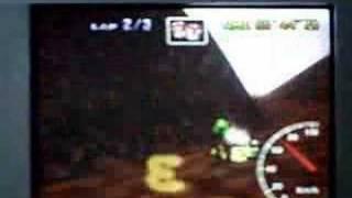 Mario Kart CM 3lap 1'37''85