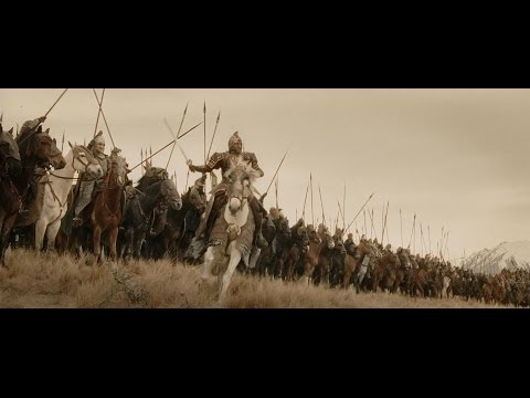 The Ride of the Rohirrim in Lord of the Rings will forever be the most epic horse charge in the history of cinema