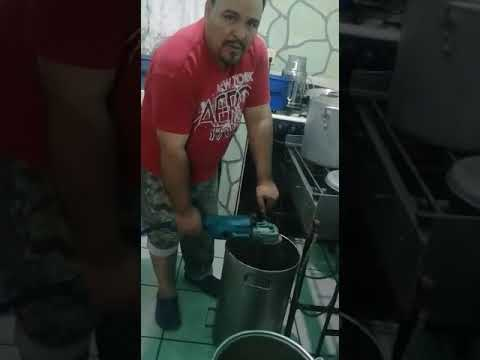 Licuadora industrial para salsas 6600 R.P.M