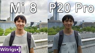 Xiaomi Mi 8 vs Huawei P20 Pro Camera Test   Low Light Photo Comparison