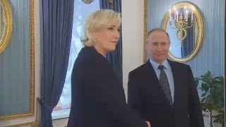 Moscow Visit: Le Pen surprise meeting with Putin