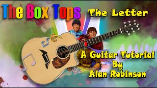 The Letter - The Box Tops - Acoustic Guitar Lesson (2021 version Ft. my son Jason on lead etc.)