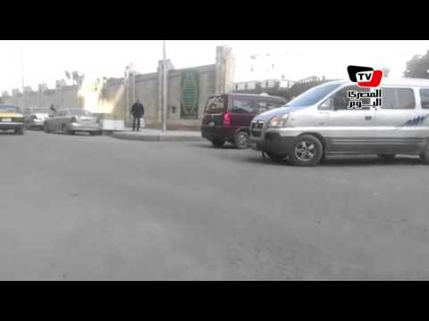 لحظة خروج جثمان محمود بكر من مستشفى القوات المسلحة بالإسكندرية