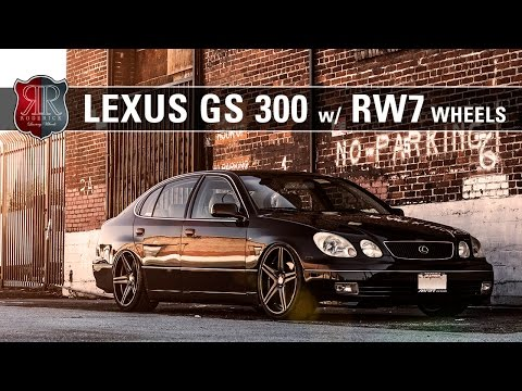 Roderick Wheels RW7 - Lexus GS300
