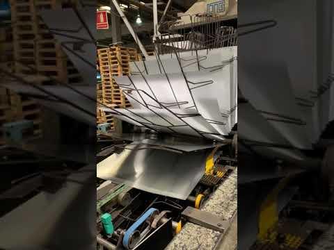 Video - Mailander 460 coating line with 36 meter LTG tunnel-oven (M1)