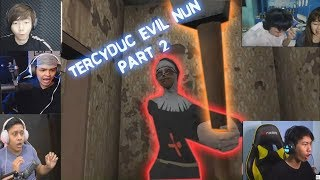 Teriakan Kesal Gamer Indonesia Kena Cyduk The Evil Nun [MiawAug,Erpan dkk] #part2