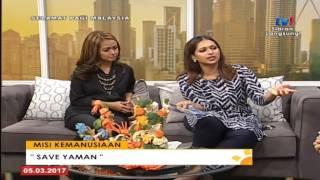 MISI KEMANUSIAAN SAVE YEMEN @ SPM TV1