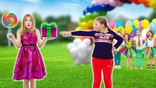 Amelia and Avelina birthday party fun