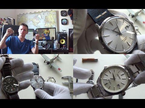 "Best Japanese Watches Under $500 – Triple Review – SARG011, SARB065 ""Cocktail"", SDGM001 ""Brightz"""