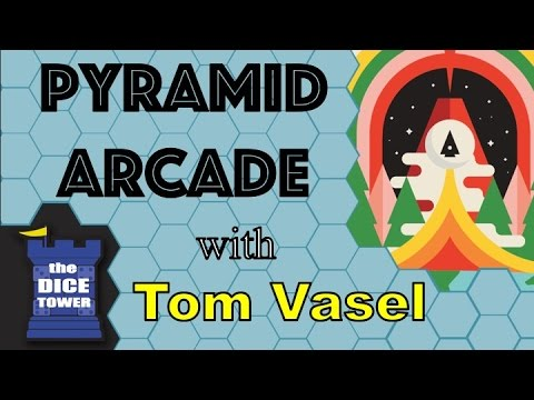 Pyramid Arcade Review - with Tom Vasel