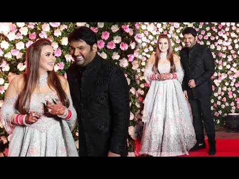 Kapil Sharma With Beautiful Wife Ginni Chatrath's