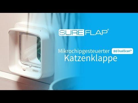 DualScan Mikrochip Katzenklappe - Anwendung des Reichweitentesters
