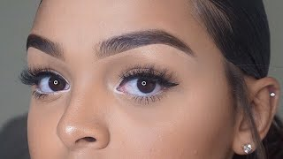 EYEBROW TUTORIAL (BEGINNER FRIENDLY)