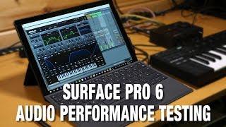 Surface Pro 6 Audio Performance Testing
