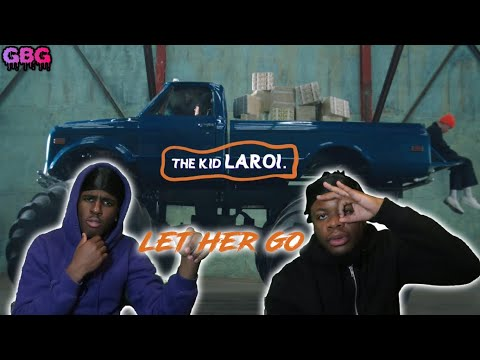 HE'S GOING TO TAKE OFF!! The Kid LAROI - Let Her Go (REACTION)