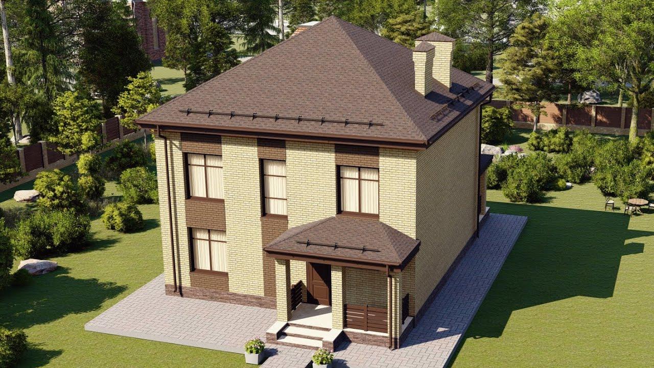 Двухэтажный, четырехкомнатный дом с террасой