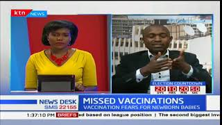 MISSED VACCINATIONS: Dr. Lawrence Owino on nurses' strike outcome