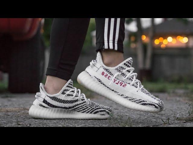 Adidas Yeezy 350 Boost V2 Zebra All Colors For Men Women