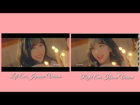 GFRIEND - SUNRISE [Japanese & Korean] Comparison