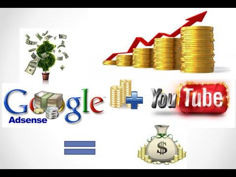 how to earn 50$money per day  using youtube + google adsense