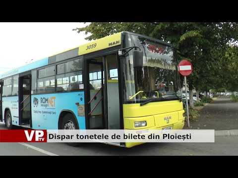 Dispar tonetele de bilete din Ploiești