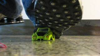 Nike Shox stomp toy car (STOMPvid-2007)