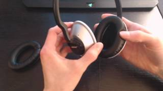 How replace bose headphone ear cups