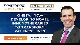 Kineta, Inc.--Developing Novel Immunotherapies to Transform Patients' Lives