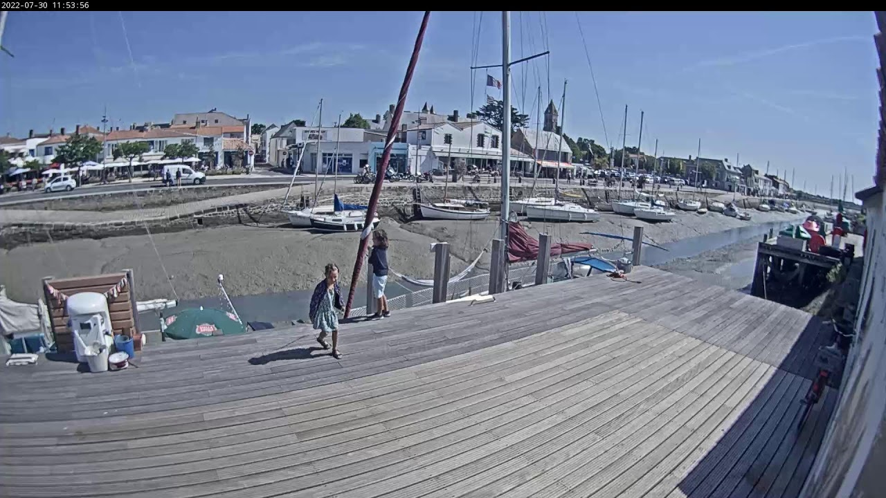 Webcam en direct du port de Noirmoutier