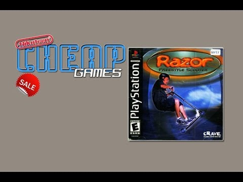 Razor Freestyle Scooter Playstation