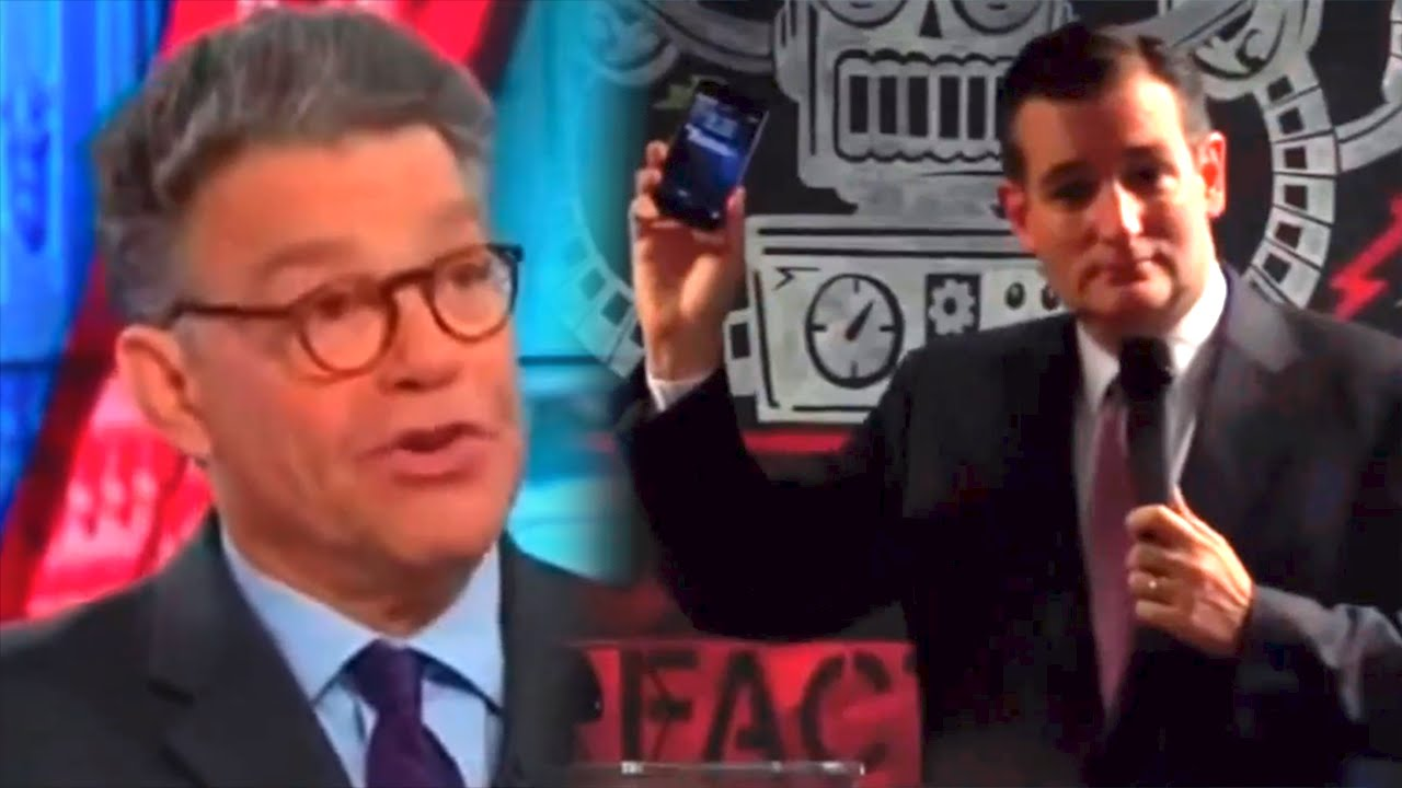 Ted Cruz's Worst Nightmare Is Al Franken Explaining The Internet thumbnail