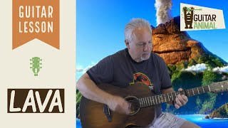lava song ukulele chords and strum pattern - Kênh video giải