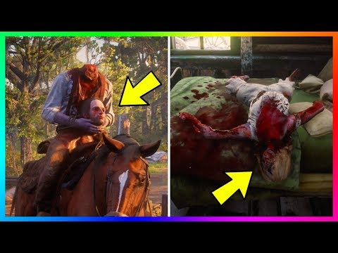 The MOST Brutal, Shocking & Creepy Deaths In Red Dead Redemption 2! (RDR2)