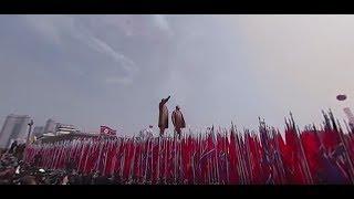 Видео 360: Крупнейший военный парад в КНДР