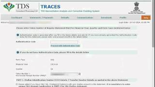Request and Download TDS-TCS Consolidated File