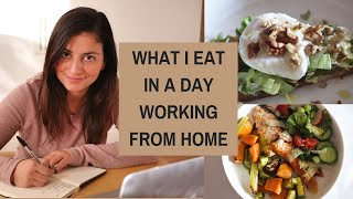 WHAT I EAT IN A DAY WORKING FROM HOME - SOCIAL DISTANCING (CORONAVIRUS ISOLATION)