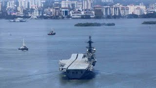 Viraat sets sail for Gujarat, to be dismantled and sold as scrap - Download this Video in MP3, M4A, WEBM, MP4, 3GP