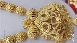 Latest Saudi Designs Gold Necklaces