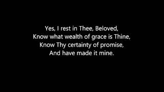 Jesus I Am Resting Matthew Smith Lyrics