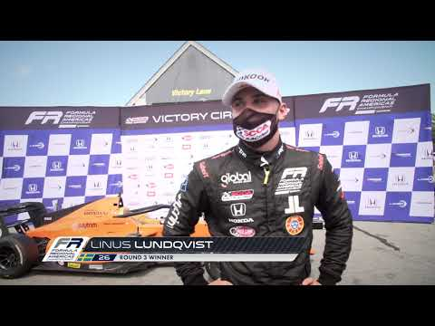 Lundqvist Wins Third FR Americas Race at VIR