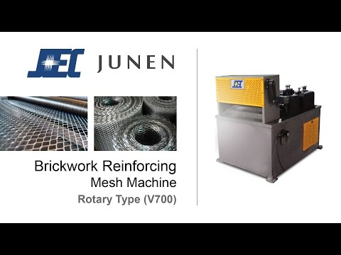 Brickwork Mesh Machine (Rotary type)