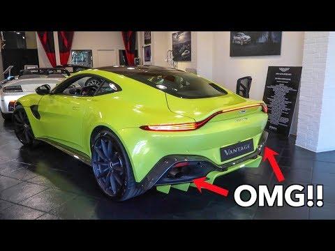 Lime Essence 2018 Aston Martin Vantage Gets Walkaround Revs Its Engine Autoevolution