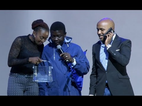 BANKY W, KATE HENSHAW AND SEYI LAW  EXPERIMENT SAMSUNG GALAXY S5 ABILITY IN WATER