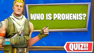 The OFFICIAL ProHenis Trivia Map! - Who is ProHenis? (Fortnite Creative Mode)