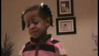 Nia singing Love Ballad by LTD age 5