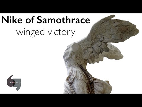 Marinero comerciante Hacia  Winged Victory (Nike) of Samothrace (video) | Khan Academy